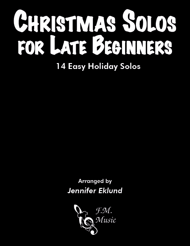 Christmas Solos for Late Beginners (Songbook)