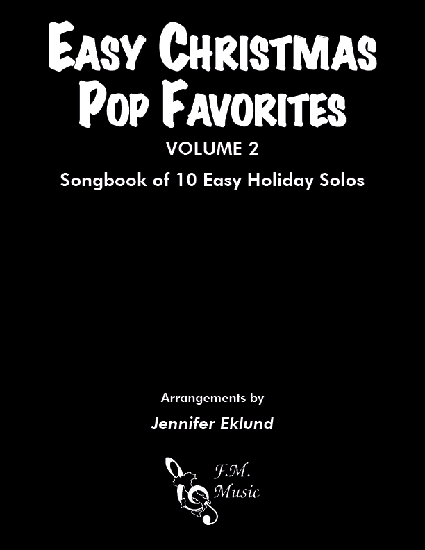 Easy Christmas Pop Favorites: Volume 2 (Songbook)