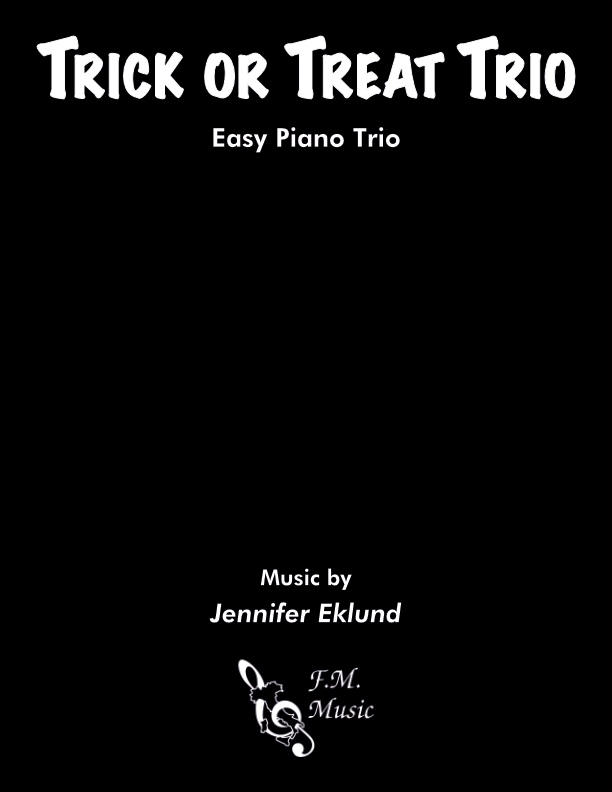 Trick or Treat Trio (Easy Piano)