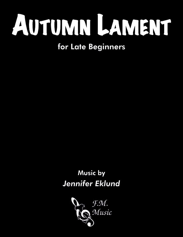 Autumn Lament (Late Beginners)