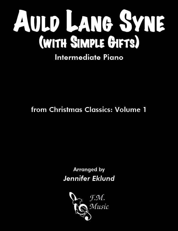 Auld Lang Syne (Intermediate Piano)