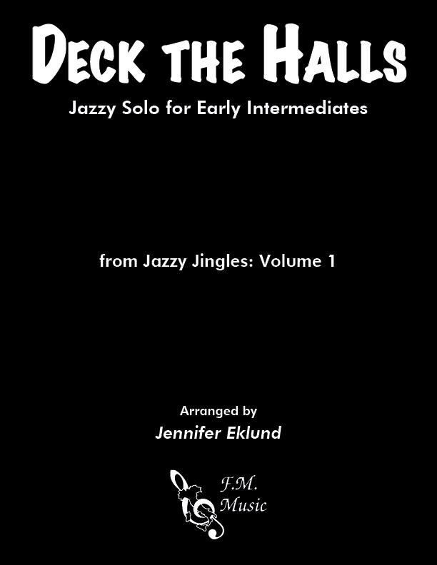 Deck the Halls (Easy Jazz Piano Solo)