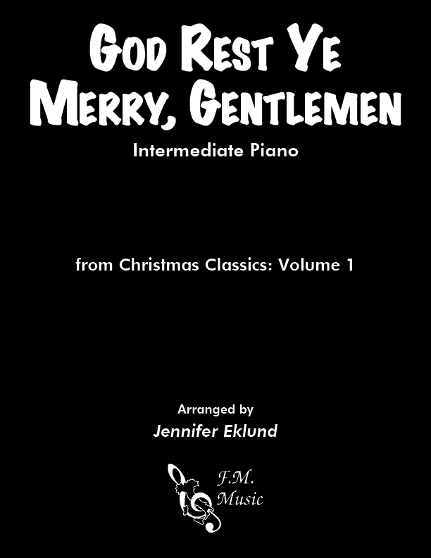 God Rest Ye Merry, Gentlemen (Intermediate Piano)