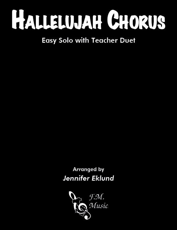 Hallelujah Chorus (Easy Piano with Duet)