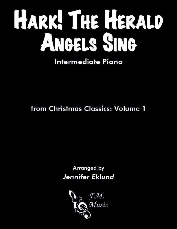 Hark! the Herald Angels Sing (Intermediate Piano)