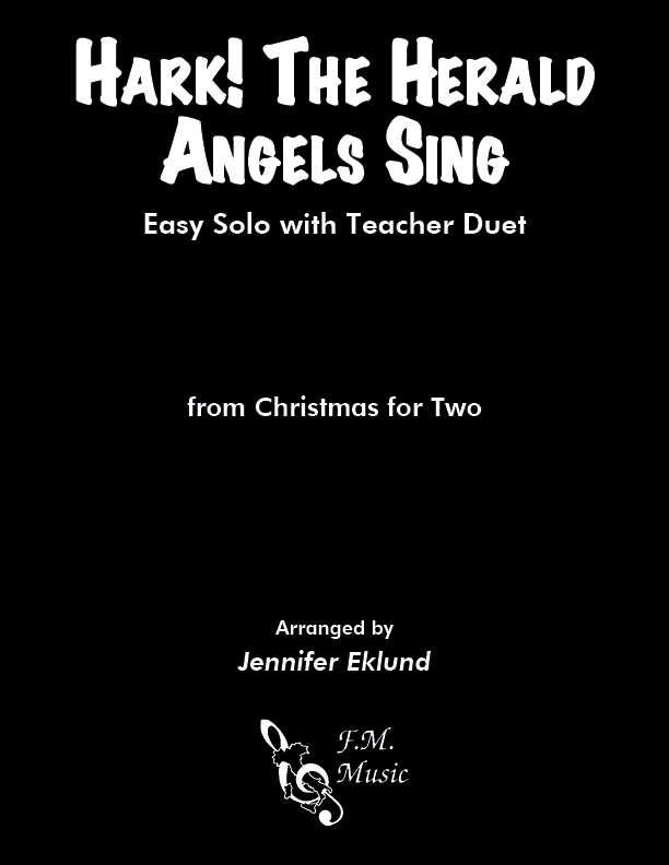 Hark! the Herald Angels Sing (Mixed Level Duet)