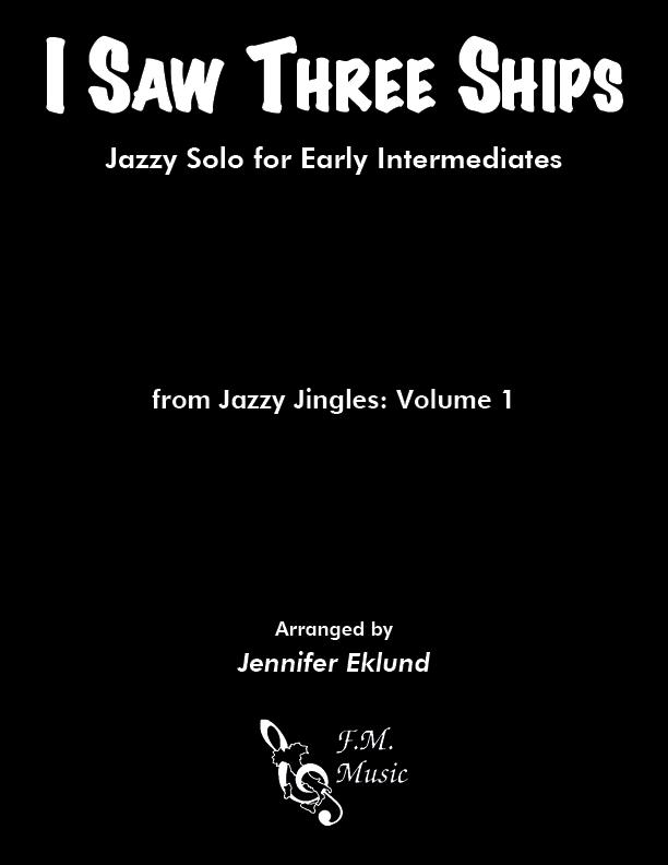 I Saw Three Ships (Easy Jazz Piano)