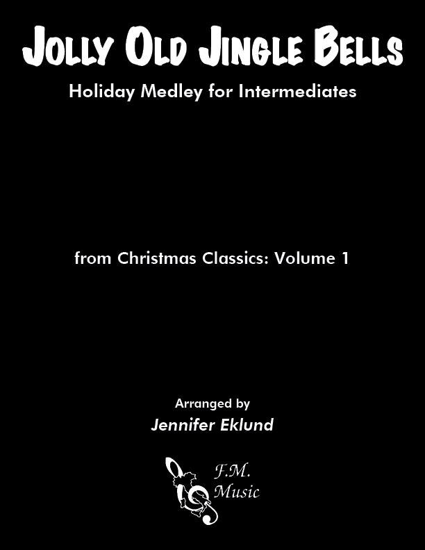Jolly Old Jingle Bells (Intermediate Piano)