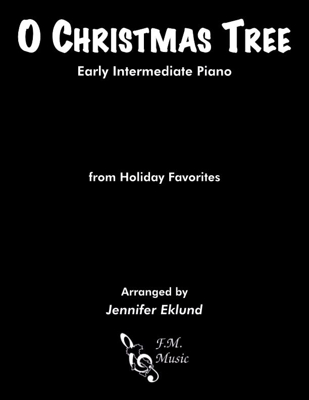 O Christmas Tree (Early Intermediate Piano)
