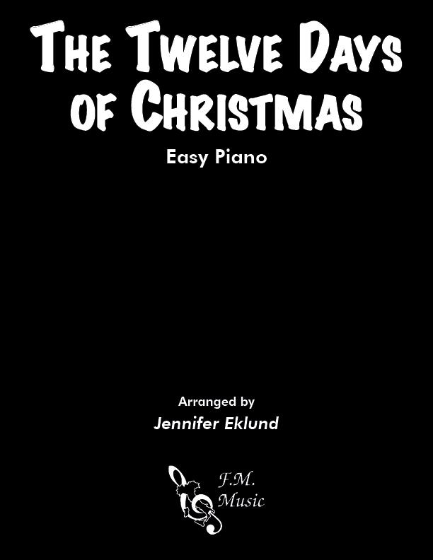 The Twelve Days of Christmas (Easy Piano)