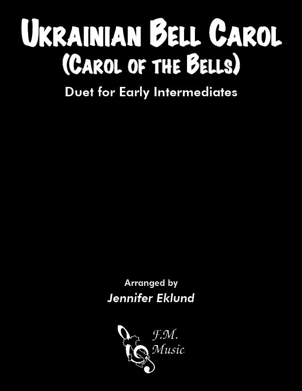 Ukrainian Bell Carol (Early Intermediate Duet)