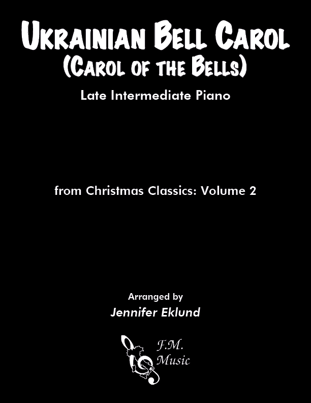 Ukrainian Bell Carol (Late Intermediate Piano)