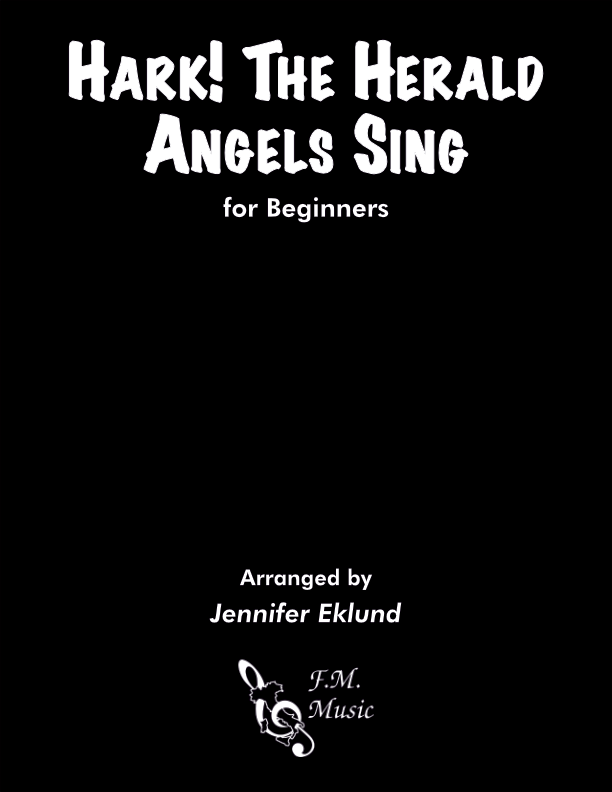 Hark! the Herald Angels Sing (for Beginners)