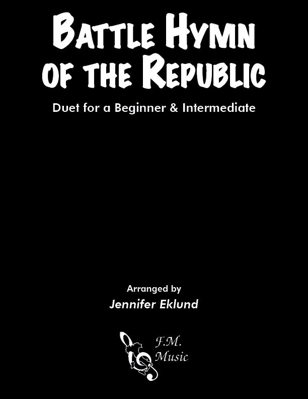 Battle Hymn of the Republic (Mixed Level Duet)