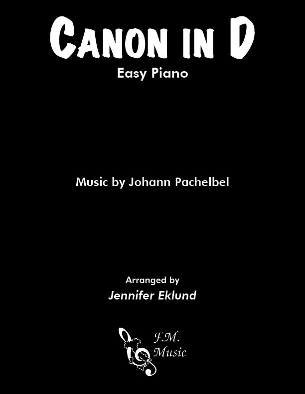 Canon in D (Easy Piano)