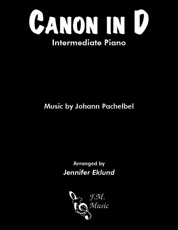 Canon in D (Intermediate Piano)