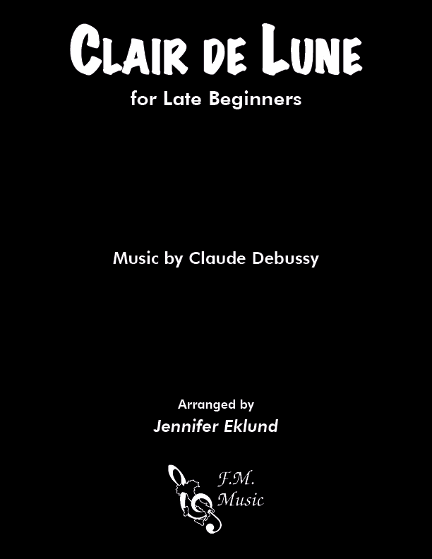 Clair de lune (Late Beginners)