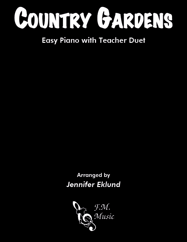 Country Gardens (Easy Piano with Duet)