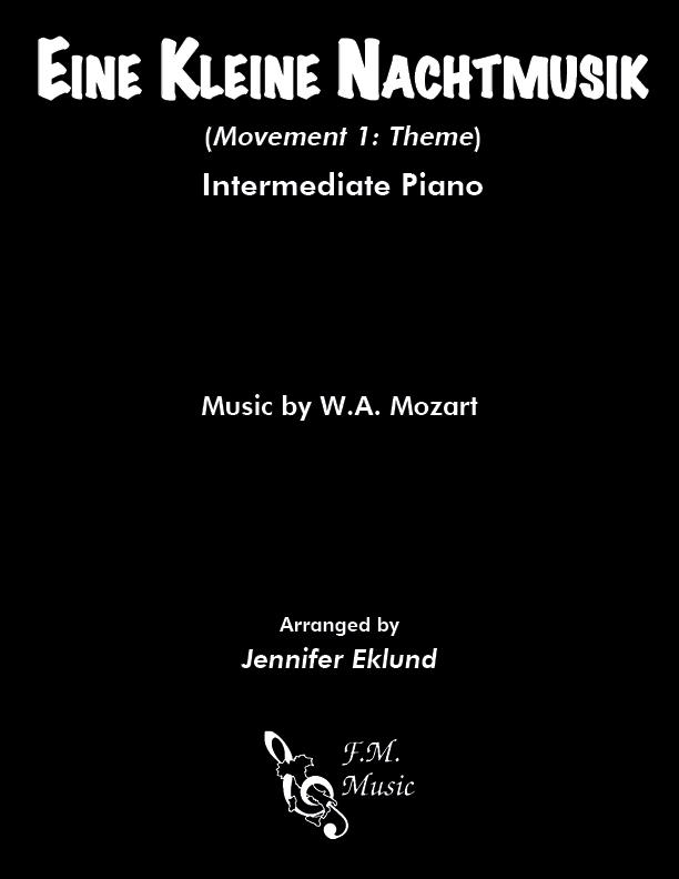 Eine Kleine Nachtmusik (Intermediate Piano)