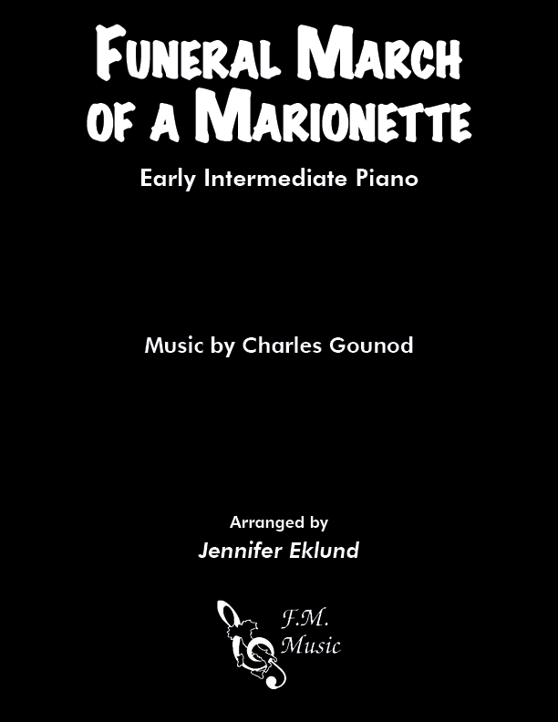 Funeral March of a Marionette (Early Intermediate Piano)