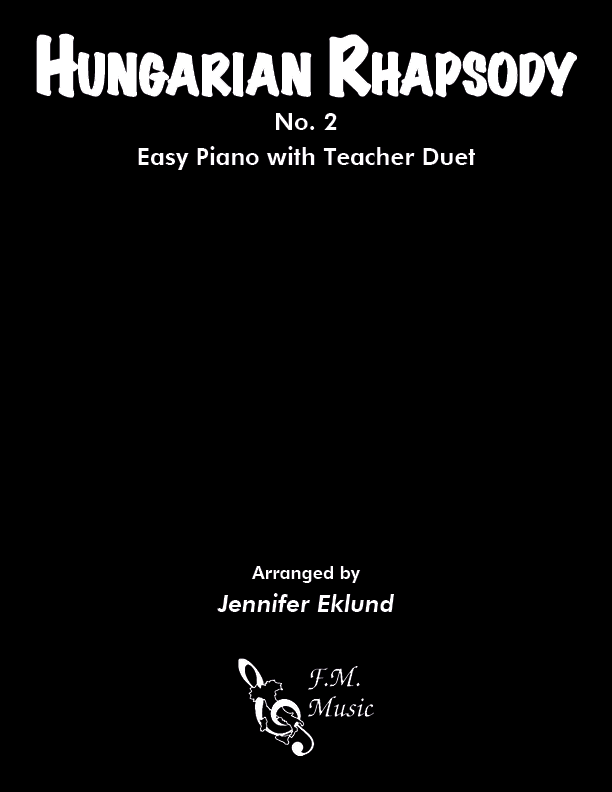 Hungarian Rhapsody No. 2 (Easy Piano with Duet)