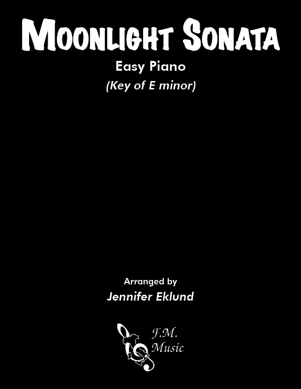 Moonlight Sonata (Easy Piano)