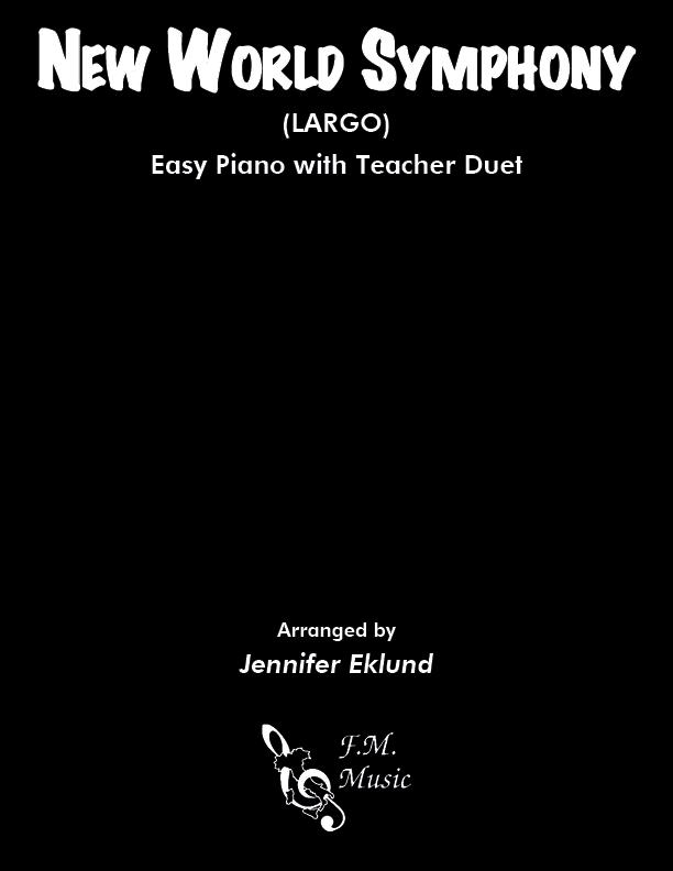 New World Symphony: Largo (Easy Piano with Duet)