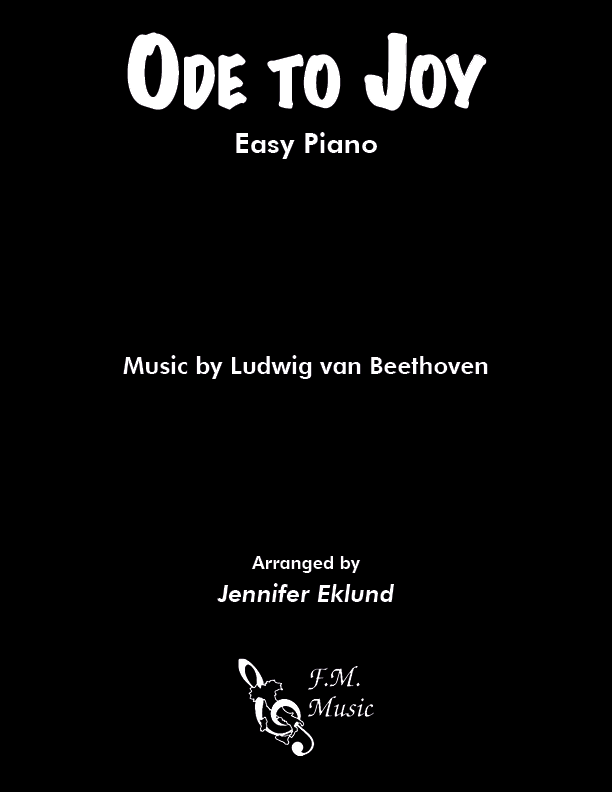 Ode to Joy (Easy Piano)