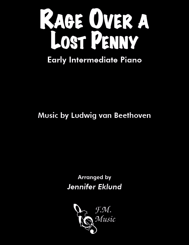 Rage over a Lost Penny (Early Intermediate Piano)