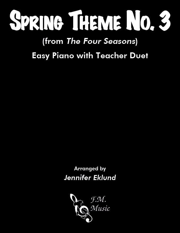 Spring Theme No. 3 (Easy Piano with Duet)