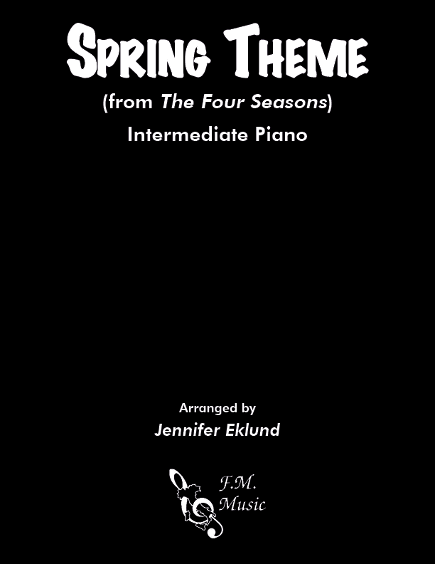 Spring Theme (from The Four Seasons) (Intermediate Piano)