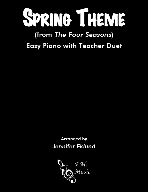 Spring Theme (from The Four Seasons) (Mixed Level Duet)