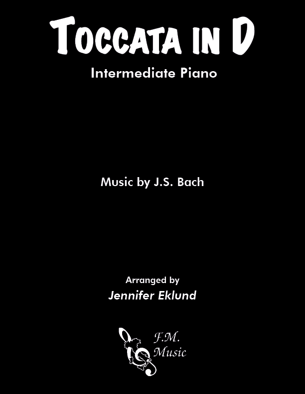 Toccata in D (Intermediate Piano)