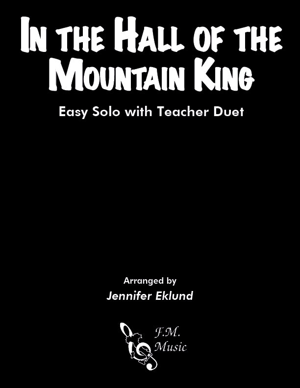 In the Hall of the Mountain King (Easy Piano with Duet)