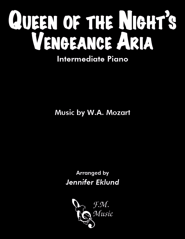 Queen of the Night Aria (Intermediate Piano)