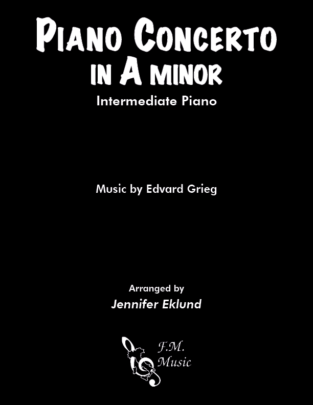 Grieg Piano Concerto Theme (Intermediate Piano)