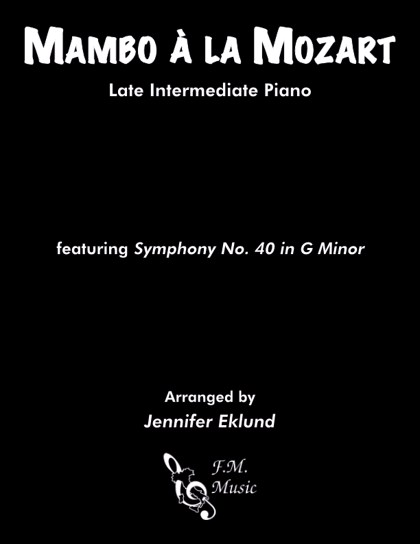 Mambo a la Mozart (Late Intermediate Piano)