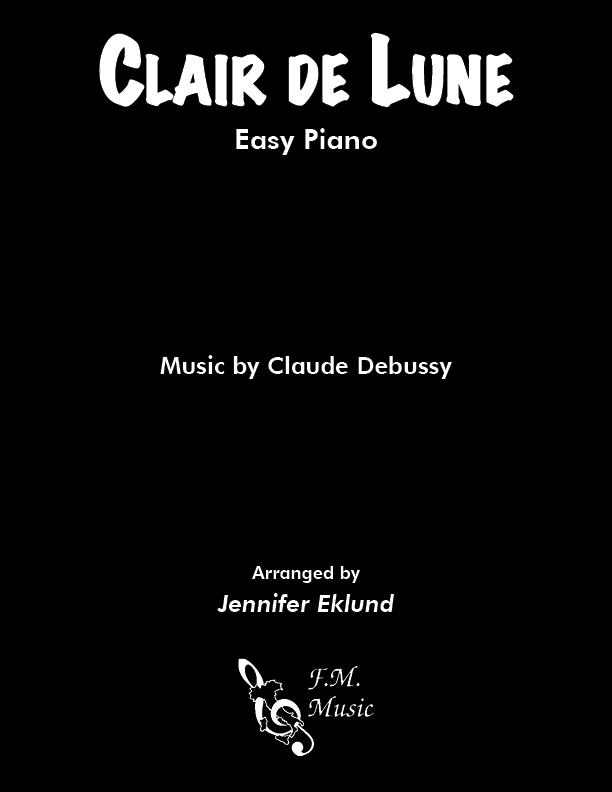 Clair de lune (Easy Piano)