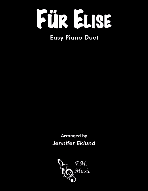 Fur Elise (Easy Piano Duet)