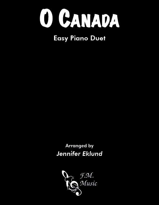O Canada (Easy Piano Duet)