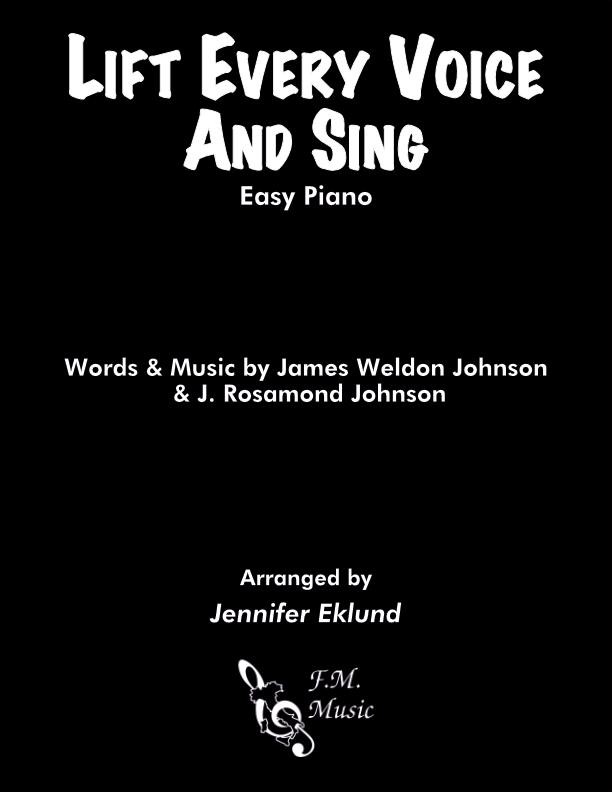 Lift Every Voice and Sing (Easy Piano)