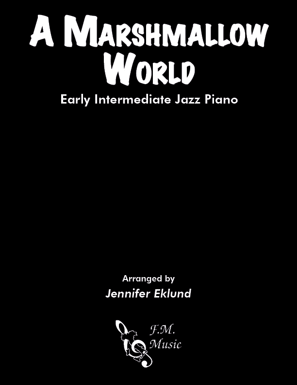 A Marshmallow World (Early Intermediate Piano)
