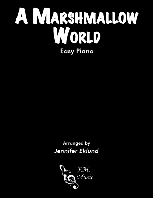 A Marshmallow World (Easy Piano)