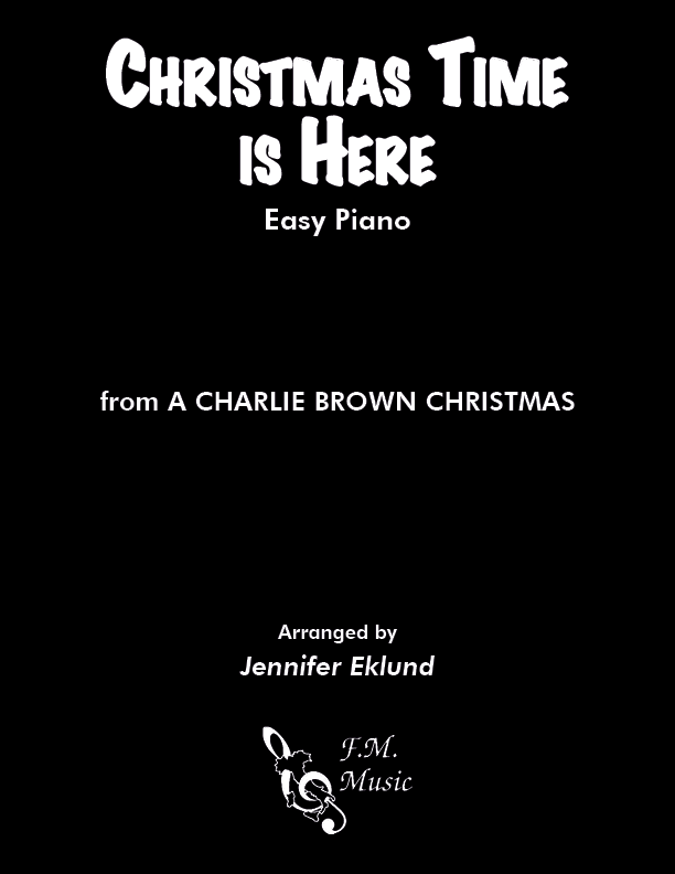 Christmas Time Is Here (Easy Piano)