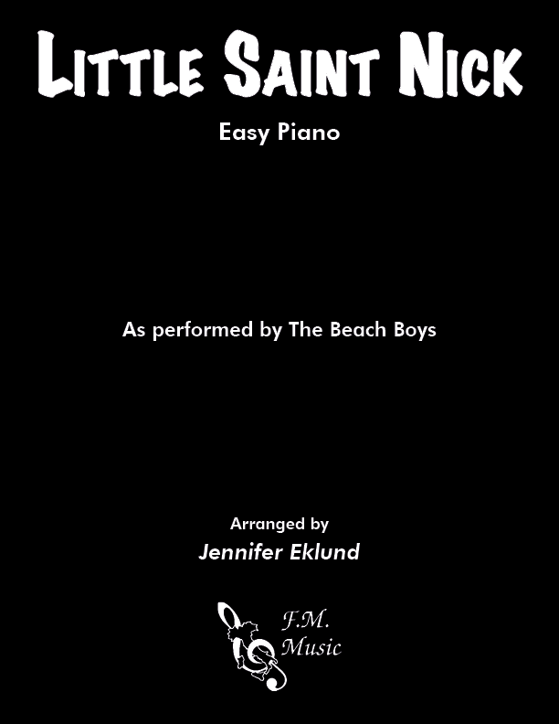 Little Saint Nick (Easy Piano)