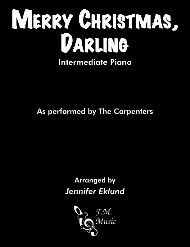 Merry Christmas, Darling (Intermediate Lyrical Piano)