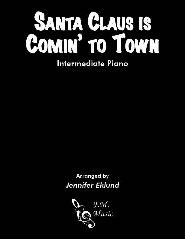 Santa Claus Is Comin' To Town (Intermediate Jazz Piano)