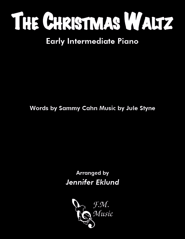 The Christmas Waltz (Early Intermediate Piano)