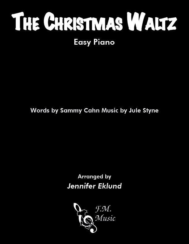The Christmas Waltz (Easy Piano)