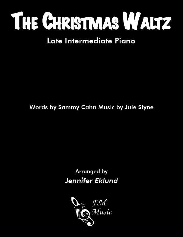 The Christmas Waltz (Late Intermediate Piano)